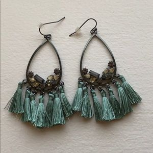 Anthropologie tassel Earrings